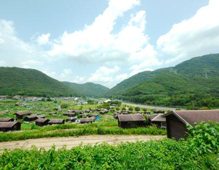 丘からの全景